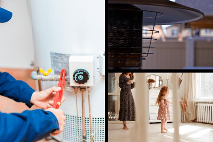 calentadores domésticos