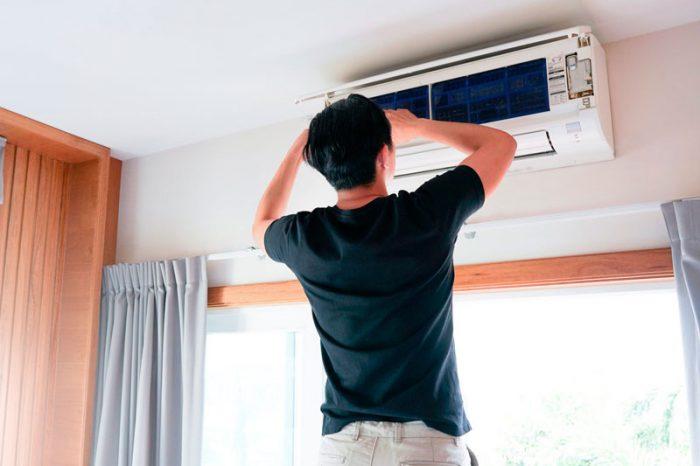 aire acondicionado después del verano